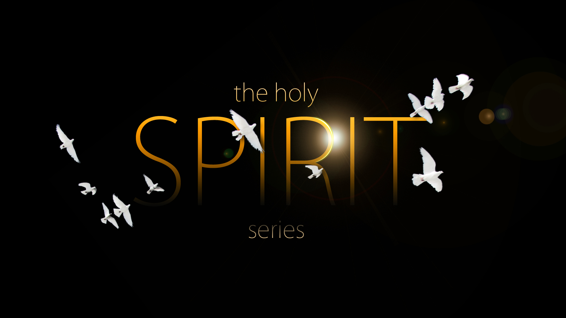 Stage Design The Holy Spirit Series Re Designing