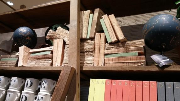 anthro weathered books