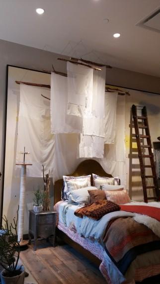 anthro hanging fabric