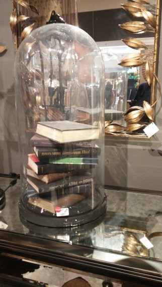 arhaus books under glass