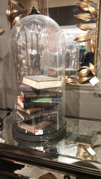 arhaus books under glass