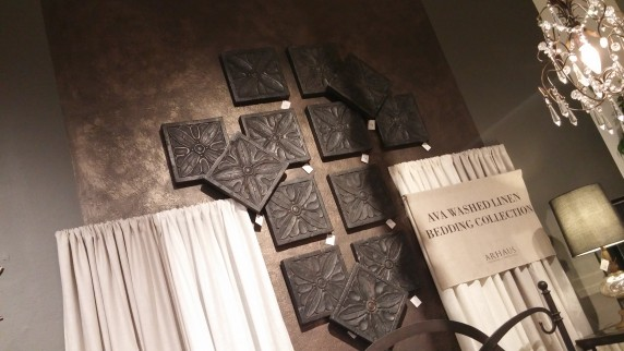 arhaus layered tiles