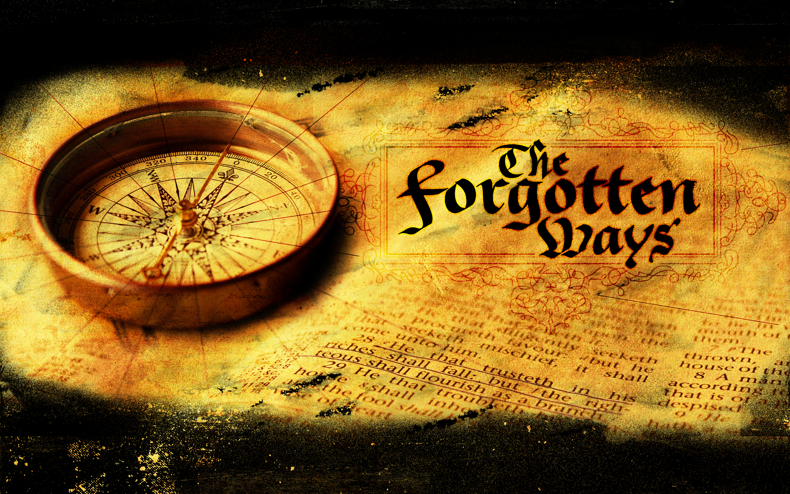 the forgotten ways series gfx