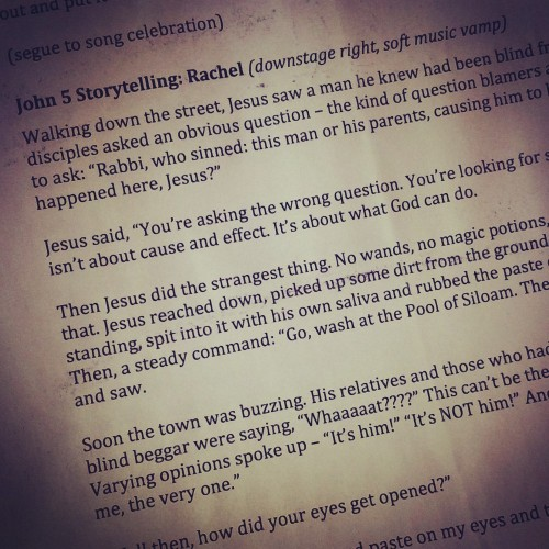 john 9 script